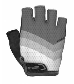 R2 Ombra Grey/White cyklistické rukavice