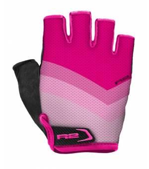 R2 Ombra Pink cyklistické rukavice