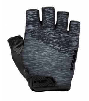 R2 Spike Black/Grey cyklistické rukavice