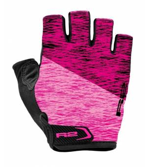 R2 Spike Purple/Pink cyklistické rukavice