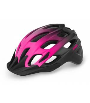 R2 Cliff Black/Pink cyklistická prilba 2021