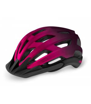 R2 Explorer Pink/Purple cyklistická prilba 2021