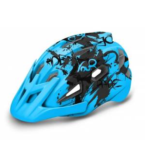 R2 Wheelie Jr. Blue/Grey cyklistická prilba
