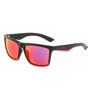 Relax Cobi Black Red slnečné okuliare