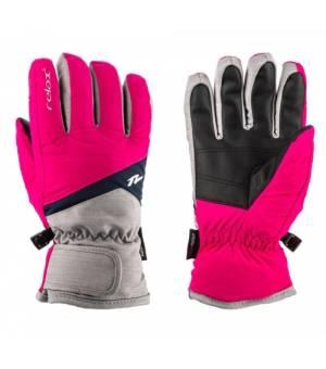 Relax Laro Grey Pink Blue lyžiarske rukavice