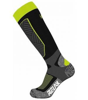 Relax Compress Black Neon Yellow ponožky