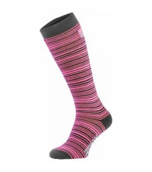 Relax Free Grey Pink ponožky