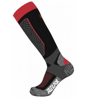 Relax Compress Black Red ponožky
