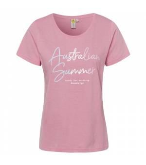 Roadsign T-Shirt Australian Summer Koralle tričko