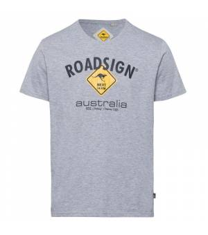 Roadsign T-Shirt Roadsign Grau Melange tričko