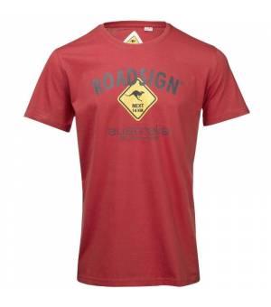 Roadsign T-Shirt Roadsign Rot tričko