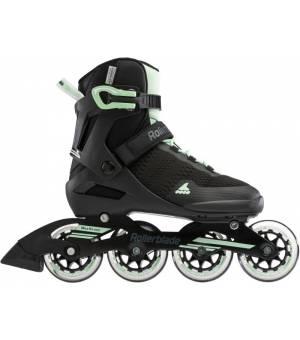 Rollerblade Spark 84 W Black/Mint Green Kolieskové korčule