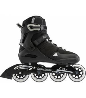 Rollerblade Sirio 84 Black/White Kolieskové korčule