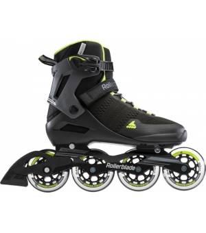 Rollerblade Spark 90 Black/Lime kolieskové korčule
