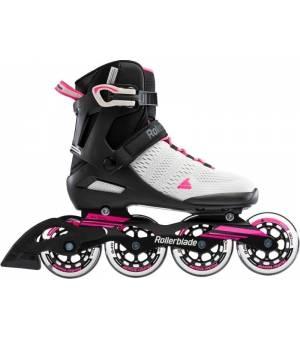 Rollerblade Sirio 90 W Cool Grey/Candy Pink Kolieskové korčule