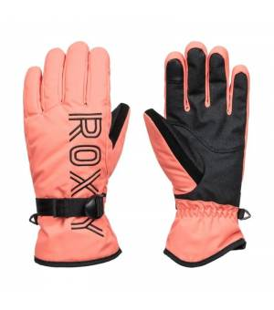 Roxy Freshfield Gloves W Fusion Coral lyžiarske rukavice