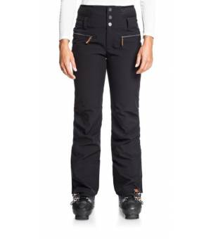 Rising High Shell Snow Pants W Black lyžiarske nohavice