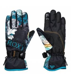 Roxy Jetty W Gloves True Black Sammy lyžiarske rukavice