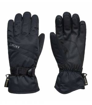 Roxy Gore-Tex Fizz W Gloves Black lyžiarske rukavice