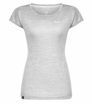 Salewa Puez Melange Dry W T-Shirt white melange tričko