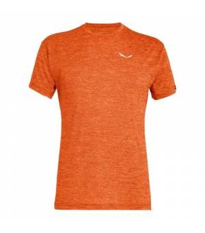 Salewa Puez Melange Dry M T-Shirt red orange melange tričko