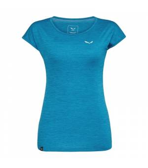 Salewa Puez Dry S/S W T-shirt Ocean Melange tričko