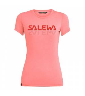 Salewa Graphic Dri-Release W T-Shirt shell pink melange tričko