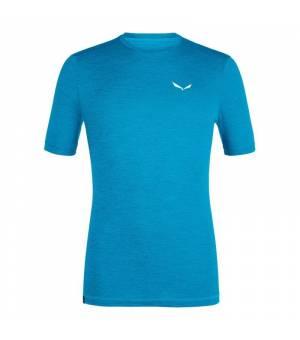 Salewa Puez Melange Hybrid Dry M T-Shirt blue danube melange tričko