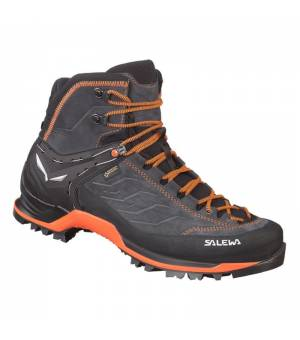 Salewa MS Mountain Trainer Mid GTX asphalt/fluo orange