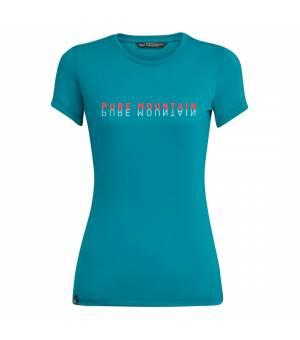 Salewa Pure Mountain Dri-Release W T-Shirt ocean melange tričko