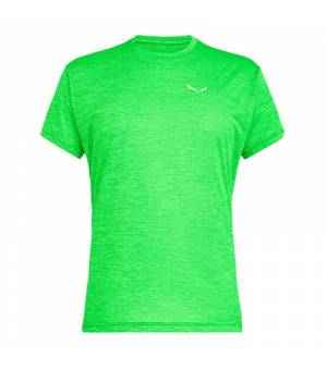 Salewa Puez Melange Dry M T-Shirt green fluo melange tričko