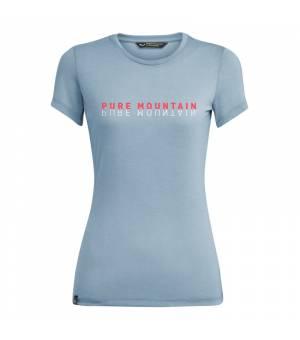 Salewa Pure Mountain Dri-Release W T-Shirt blue fog melange tričko