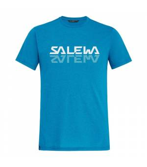Salewa Reflection Dri-Release M T-Shirt blue danube melange tričko