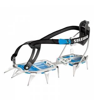 Salewa Alpinist Aluminium Combi Crampon steel/blue mačky