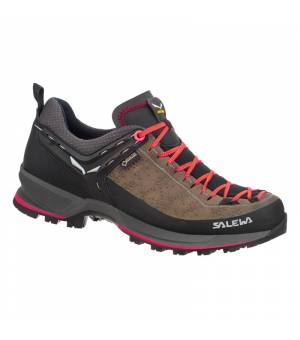 Salewa WS Mountain Trainer 2 GTX driftwood/fluo coral