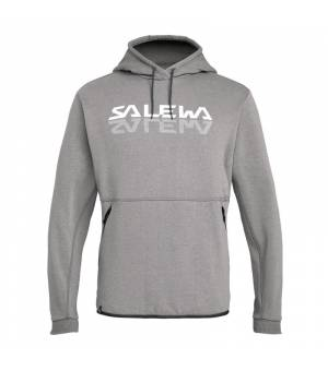 Salewa Reflection 2 Dry M Hoody grey melange mikina