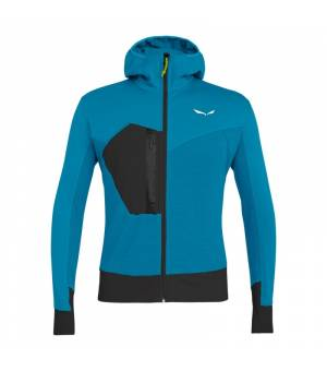 Salewa Pedroc Polartec Power Grid M Jacket blue danube mikina