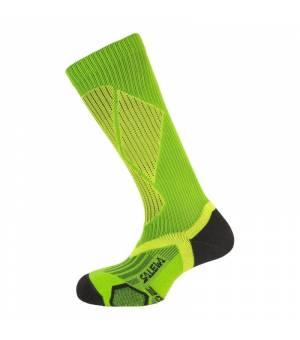 Salewa Ski Pro No Slide Socks black/cactus ponožky