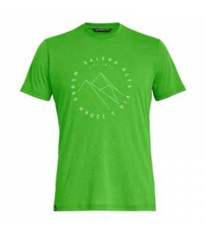 Salewa Alta Via Drirelease M T-Shirt pale frog melange tričko