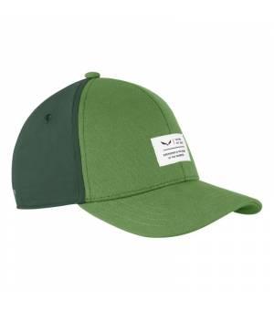 Salewa Logo K Basecap green myrtle šiltovka