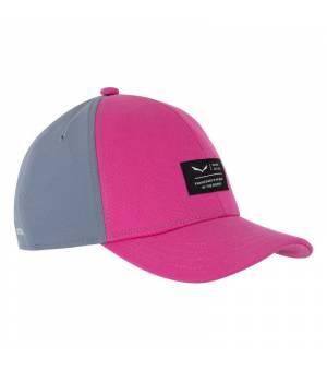 Salewa Logo K Basecap virtual pink šiltovka