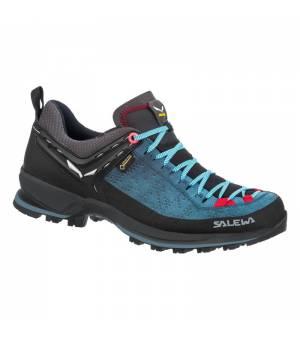 Salewa WS Mountain Trainer 2 GTX dark denim/fluo coral