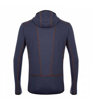 Salewa Light Micro Polarlite Full Zip M Hooded Jacket navy blazer mikina