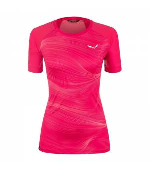 Salewa Seceda Dry W T-Shirt virtual pink tričko