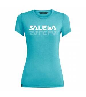 Salewa Graphic Dri-Release W T-Shirt maui blue melange tričko