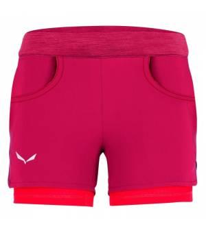 Salewa Agner Durastretch G Shorts rose red kraťasy