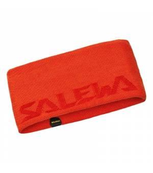 Salewa Pedroc Wool Headband red orange čelenka