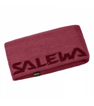 Salewa Pedroc Wool Headband pink mauvemood čelenka
