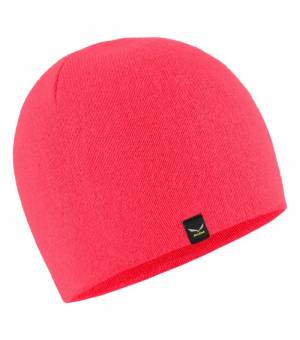Salewa Sella Ski Beanie pink fluo coral čiapka