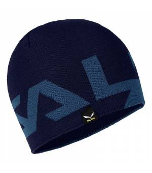 Salewa Antelao 2 Reversible Wool Beanie blue navy blazer čiapka